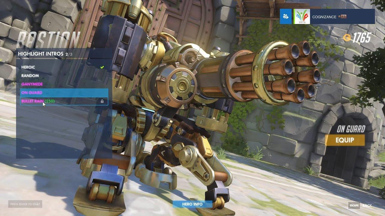 Bastion - Steambot - Overwatch Legendary Skin Spotlight