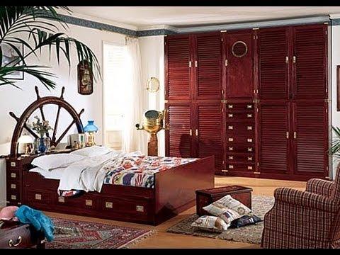 Arredamento stile marina per la zona notte camerette e camere matrimoniali by il corsaro - Camera da letto marinara ...