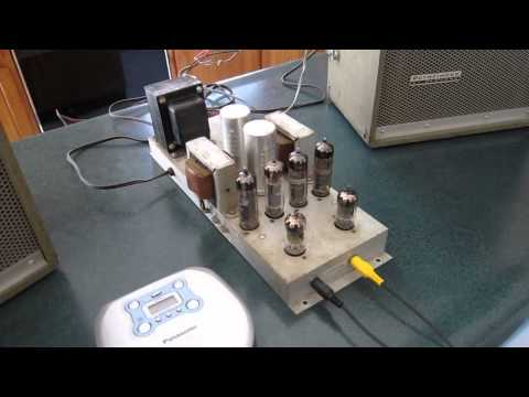 Tube Amplifier 6BQ5/EL84 X 4