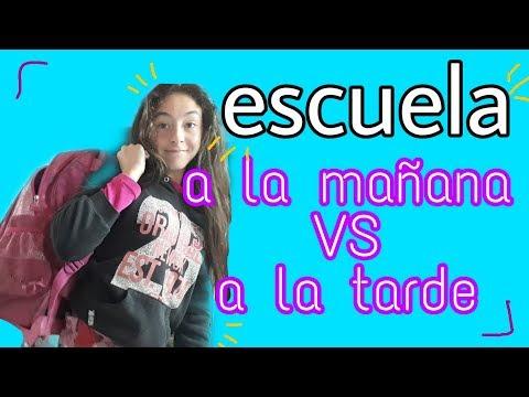 Escuela MAÑANA Vs TARDE / Solcito Sol