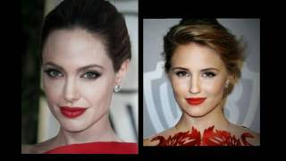Hair Comes the Bride's Favorite Hair and Makeup- Golden Globe Awards 2012