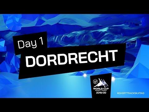 LIVE 🔴 | Day 1 (Part One) | World Cup Dordrecht 2020 | #ShortTrackSkating