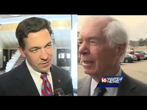 Blogger takes pictures of US Senator Thad Cochran