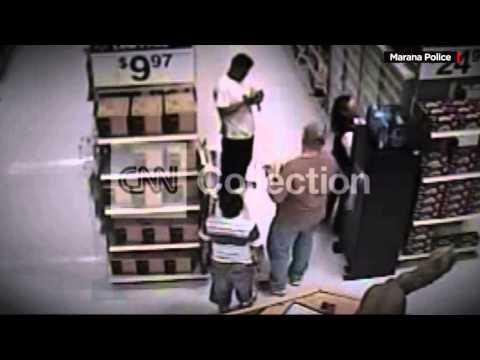 AZ: COP RAMS SUSPECT – DID GUN LOCK FAIL?