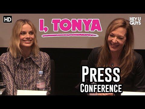 I, Tonya Press Conference - Margot Robbie, Allison Janney
