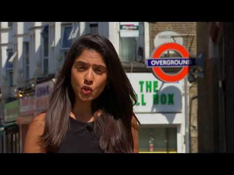 Teenager shot outside East London station - Ria Chatterjee reports