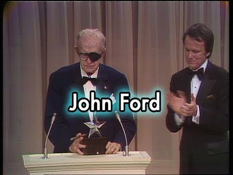 John Ford Accepts the First AFI Life Achievement Award in 1973