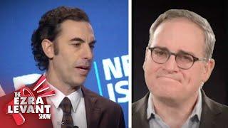 Sacha Baron Cohen: Comedian turned political censor | Ezra Levant