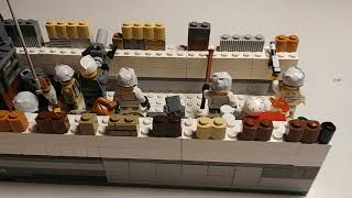 Лего - Вторая Мировая Война - Советский окоп