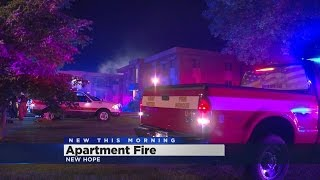 New Hope Apartment Building Damaged In Overnight Fire