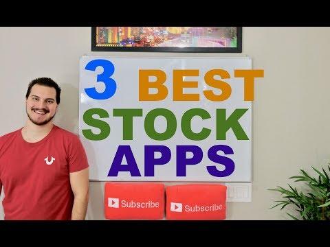 Top 3 Stock Market Apps 2018!