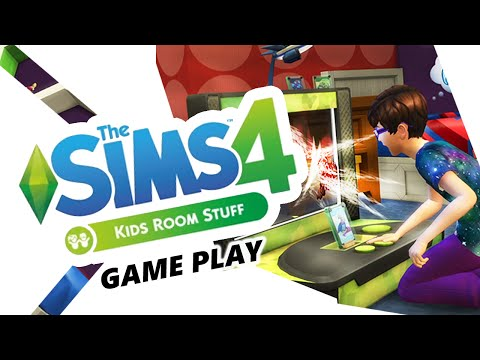 The Sims 4 Kids Room Stuff Pack | Game Play! Puppet Theatre! Oh my!