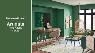June 2018 Color of the Month: Arugula - Sherwin-Williams