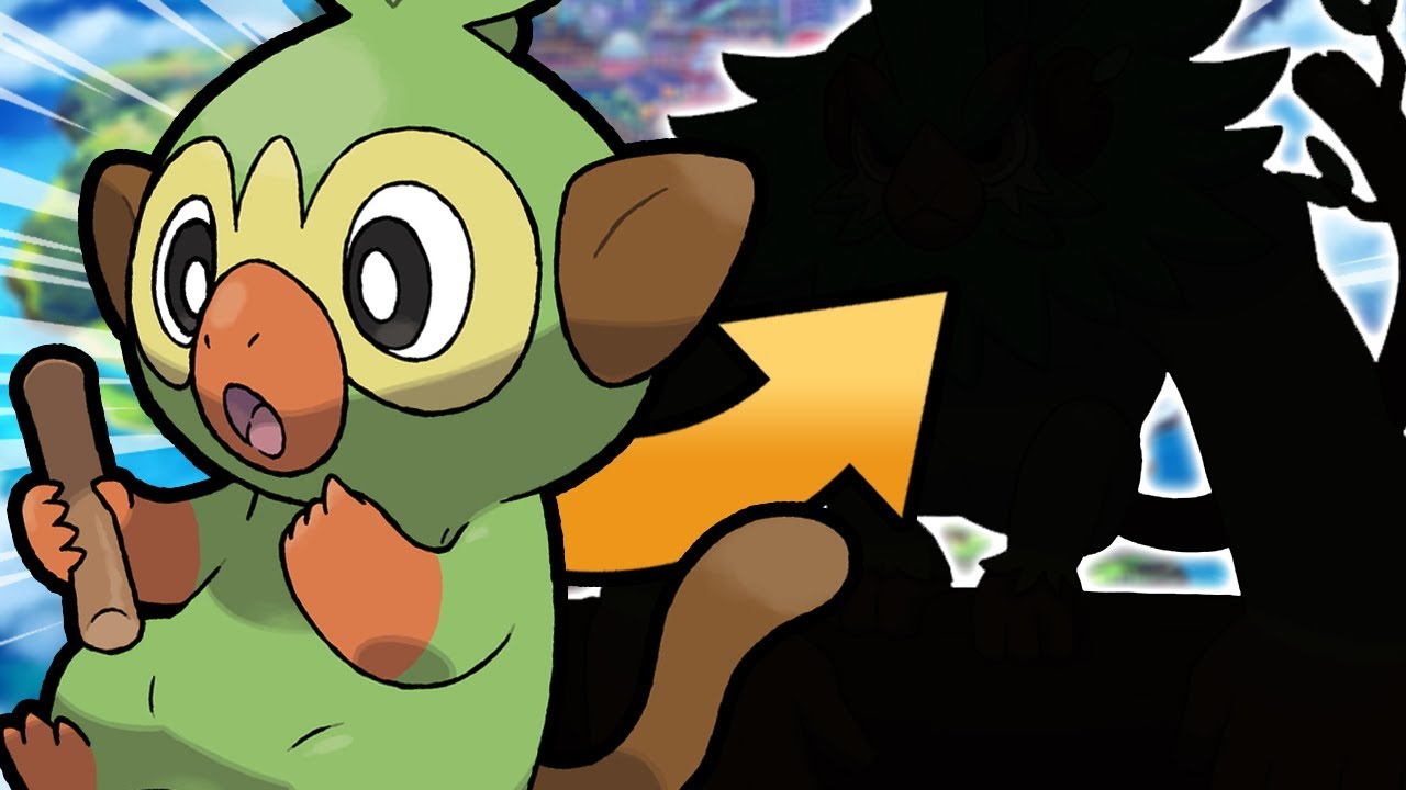 Potential Grookey Final Evolutions Pokemon Sword Shield New Starter Pokemon Discussion Youtube Once you reach grooky's final evolution, rillaboom, it will have the highest hp base stat out of all cinderace has the highest special defence base stat out of all the final evolutions for the starter. potential grookey final evolutions pokemon sword shield new starter pokemon discussion
