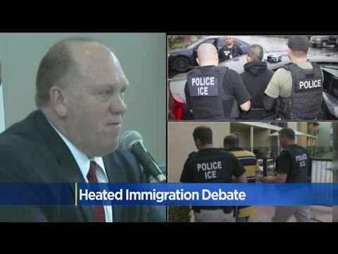 Heated Immigration Debate With ICE Director Draws Hundreds