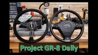 Project RX-8: Nardi Steering Wheel Install