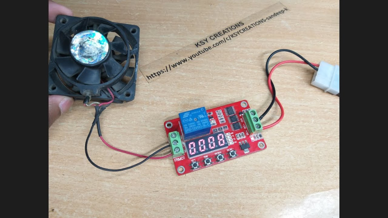 How To Connect 12v Timer Relay