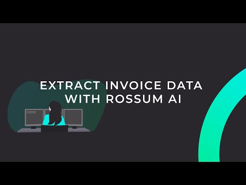 Extract Invoice Data with Rossum AI