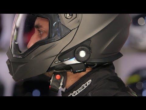 Sena 20S EVO Bluetooth Headset Review at RevZilla.com