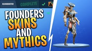 *FREE* SKINS COMING FOR FOUNDERS + MYTHIC SKINS IN BATTLE ROYALE! - Fortnite: Battle Royale