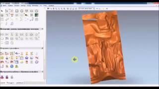 Видеоурок Составление УП для поворотной оси ЧПУ часть 1 статуэтка