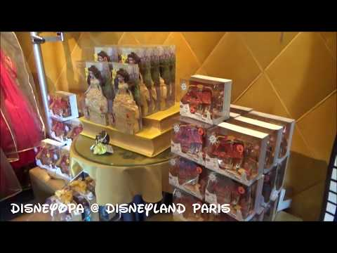 Disneyland Paris The Disney Animation Gallery Shop walkthrough 2017 DisneyOpa