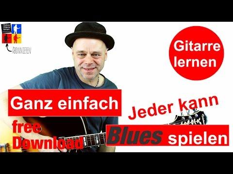 Jeder Kann Blues Spielen Gitarre Lernen🎸