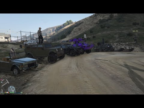 GTA 5 - Military Grade Vehicle Meet PS4 and Regular Racing