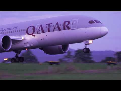 Qatar Airways' Inaugural Flight to Davao, Philippines