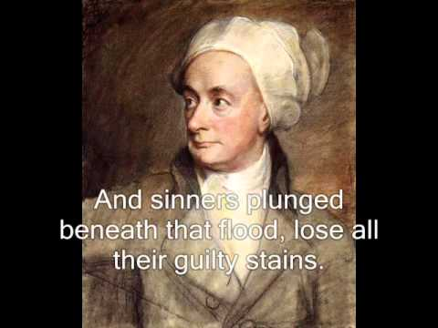 There is A Fountain Filled With Blood (Hymn with music and words) - William Cowper