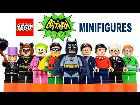 LEGO® Batman Classic TV Series Minifigures 76052 DC Comics Super Heroes