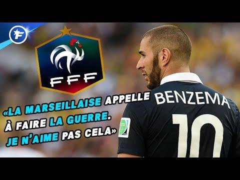 Benzema s'explique sur l'EdF et la Marseillaise | Revue de presse