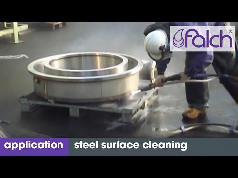 reinigung stahloberflächen / cleaning steel surfaces - www.falch.com