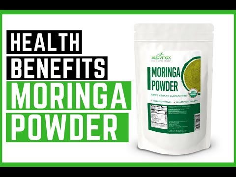 Superfoods: Health Benefits of Organic Moringa Powder | Alovitox