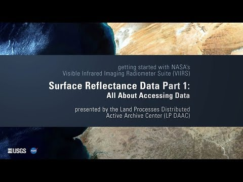 Getting Started with VIIRS Surface Reflectance Data (Part 1)
