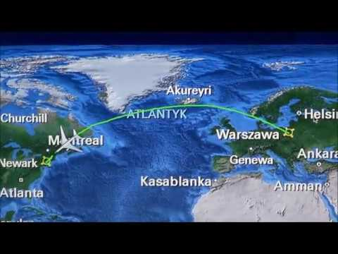Warsaw - New York EWR Newark: Flight to USA by LOT DreamLiner 787