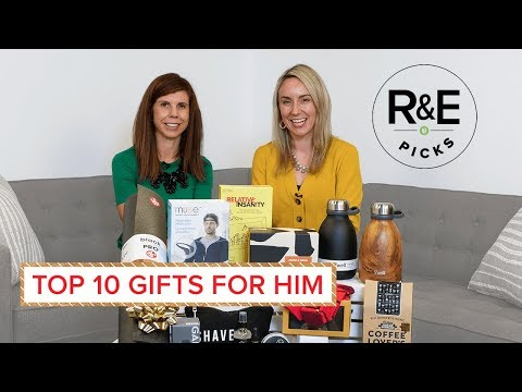 Rebecca & Erin's Top 10 Gifts for Him
