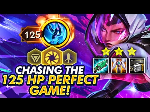 CAN I GET THE PERFECT 125HP PBE GAME?! CHASING THE DREAM! | TFT | Teamfight Tactics Galaxies