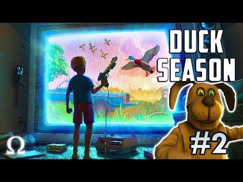 WHAT DID I GET MYSELF INTO?! | Duck Season #2 VR Full Playthrough Endings 2 & 3 (CREEPY / GOOD)