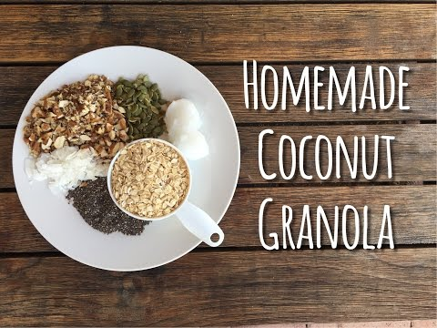 How To Make Homemade Coconut Granola