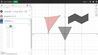 Learn Desmos Polygons