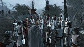 Assassin's Creed 1 - Altair vs Army of Templars [4K HD]