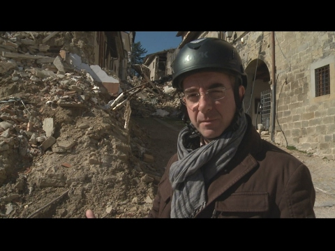 The challenge of rebuilding Italy's quake-damaged towns