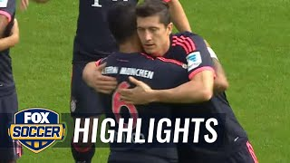 FSV Mainz 05 vs. Bayern Munich - 2015–16 Bundesliga Highlights
