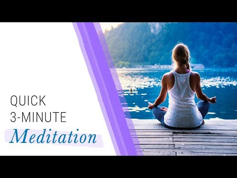 Quick 3-Minute Meditation | Jack Canfield