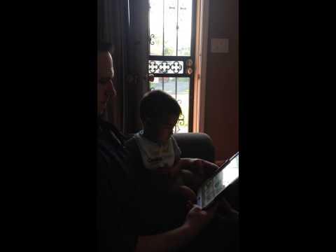 """Liam plays """"I Hear Ewe"""""""