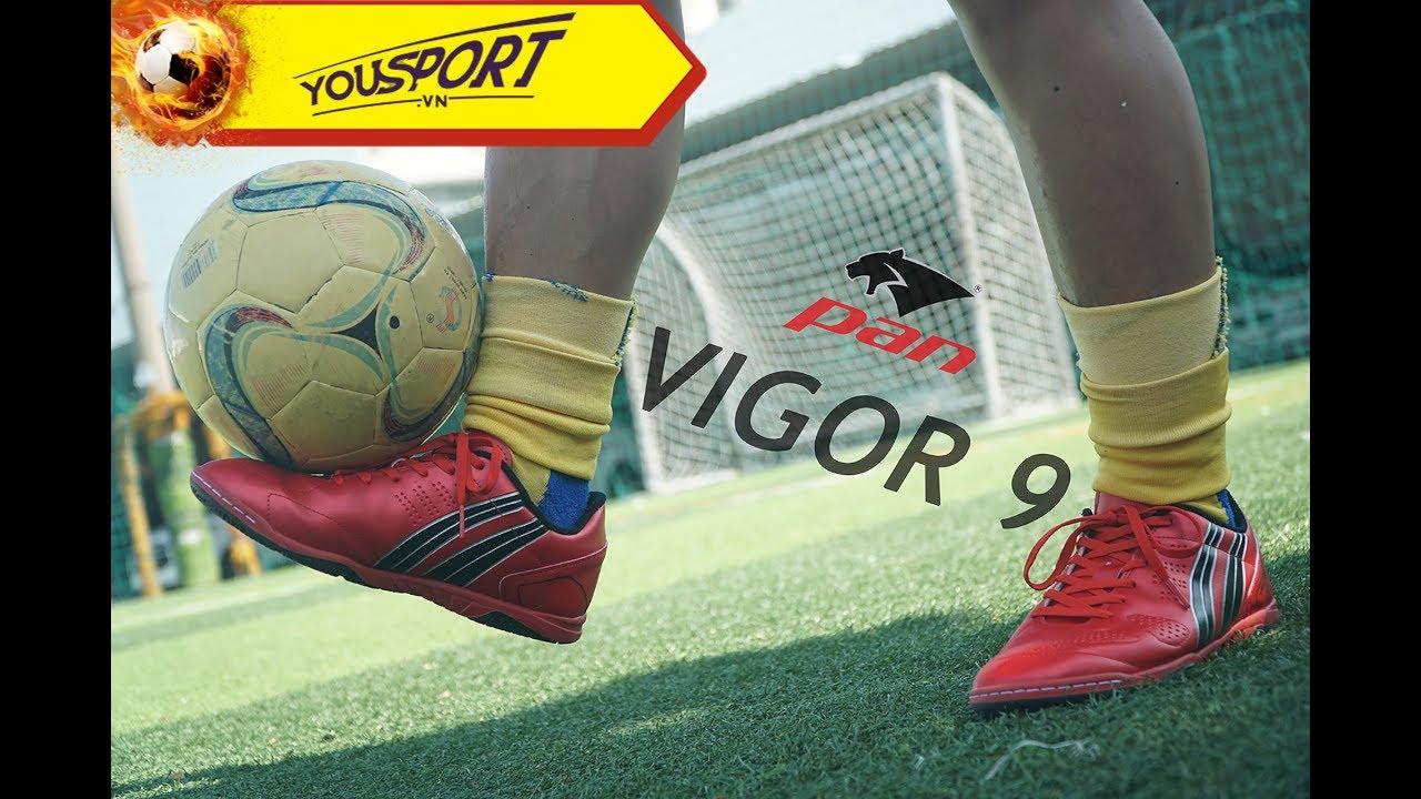 Pan ra mắt 2 mẫu giày mới nhất: Pan Vigor 9 TF và Vigor 9 IC