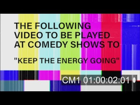 AUDIENCE HIGH ENERGY VIDEO FOR COMEDY SHOWS
