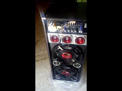 bafles fussion karaoke usb sd fm