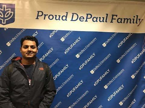 DePaul University (Chicago) Tour | That Indian Guy